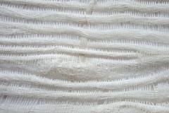 Spinnennetz aus Leinenfäden