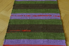 Wandteppich Mohn im Lavendel